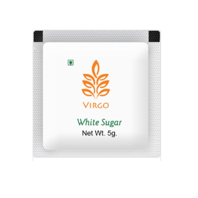 Virgo White Sugar Sachet 5 gms x 200 nos
