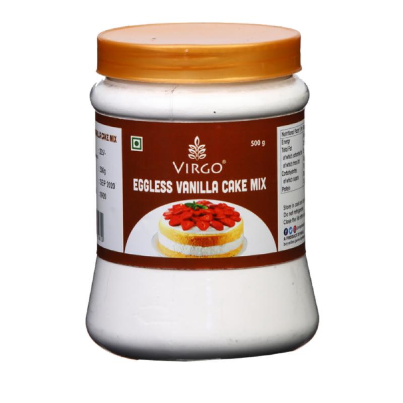 Virgo Eggless Vanilla Cake Mix 500 gms