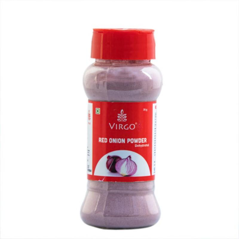 Virgo Red Onion Powder Dehydrated 70 gms